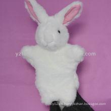 Marioneta de mano de juguete de animales de peluche de educación de bebé preciosa