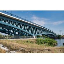 Puente de construcción de metal portátil de estructuras de acero de armadura