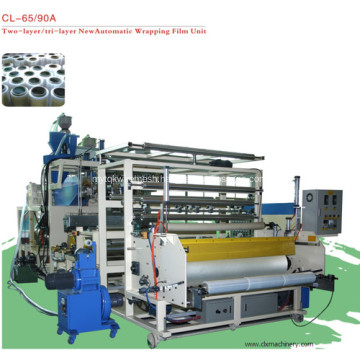 Co-Extrusion Plastic Stretch Cling Film Equipment