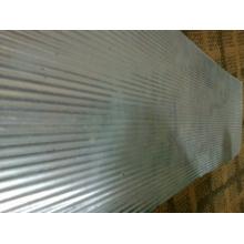 Folha de azulejo de alumínio em relevo para cobertura