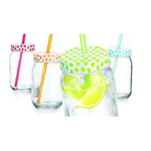 4oz 8oz 12 Oz 16oz 32oz Mason Jar Drinking Glass Jar with Lid, Wholesale Mason Glass Jar for Preserving Salad