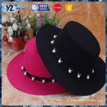 Neue und heiße Top-Qualität Winter Wolle Frauen Hut zum Verkauf