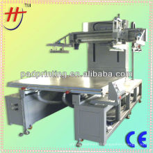 High precise and price of screen printing machine with run-table flat