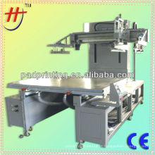 Alta precisão e preço da máquina de serigrafia com mesa de rodagem plana