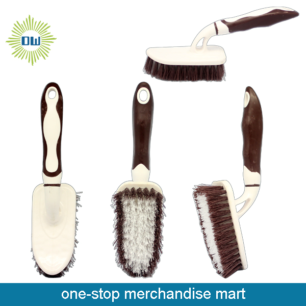 Dollar Items of Plastic Cleaning Brush with Handle
