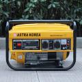 BISON (CHINE) CE 2kw 220v Démarrage manuel Astra Korea Generator, astra korea generator dc