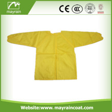 Yellow Color and Blue Color Polyester Kids Apron