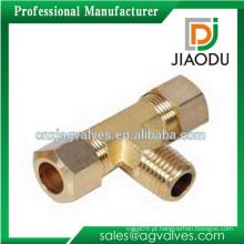 Preço de fábrica feito na alta qualidade da porcelana boa tubulação de tubulação do T da tubulação de bronze da venda quatro para tubulações