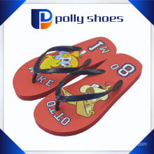 Wholesale Cartoon Printed Beach Boys PE Sole Slipper