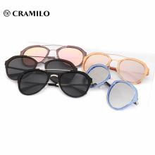 2018 nuevo estilo novedad de gafas de sol de China de fábrica
