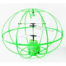 rc OVNI bola volante juguete 3.5CH flash w / cable USB