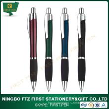Рекламная металлическая ручка с мягким захватом