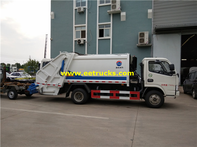 Dongfeng Refuse Compression Trucks
