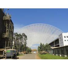 Estrutura de aço do quadro do espaço do central eléctrica do fogo de carvão das junções de bola do parafuso