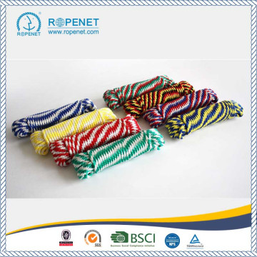 Cores misturadas PP Braid Derby Rope For Promotion