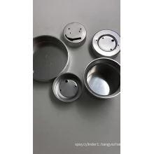 Aluminum Gas mask cartridge gas filter
