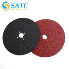 SATC-resina ligado A / S disco de fibra / disco de fibra impermeável com furo cruzado