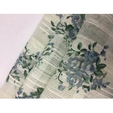 Tissu imprimé coton Dobby