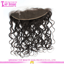 2015 New style Breathable and comfortable brazilian loose curly frontal lace closure 13x4