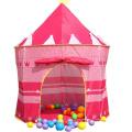 Castle Tent Camping Portable Folding Children Outdoor Tente de jeux pour enfants à l'extérieur