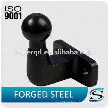 Balle de remorque de 50mm avec surface chromée