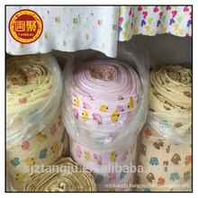 Used for baby cloth nightgown 100% cotton jersey fabric