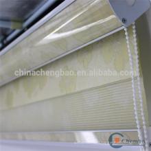 Estilo europeo jacquard cebra ciego persiana ventana de tela