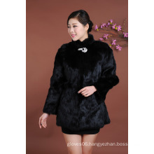 High Quality Lady Long Style Winter Fur Clothing Women Fashion Outwear Warm Winter Fur Coat Wholesale