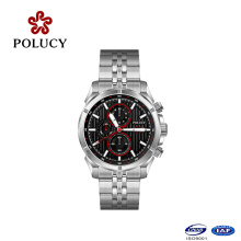 Stainless Steel Material Mens Chronograph Watch
