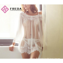 Best Price on for Sexy Lace Lingerie Hot Sexy Seductive Perspective lace nightdress export to South Korea Factories