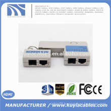 2015 New Mini RJ45 RJ11 Cat5 Cat6 Network LAN Cable Tester with Keychain 9 LEDs Ethernet Cord Tracker Detector