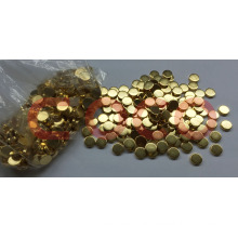D6mm*2mm Small Disc NdFeB Magnet with Glod Coating