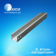 Tamanhos de calhas de cabos galvanizados (UL, IEC, SGS e CE)