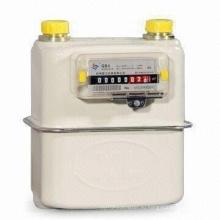 Мембранный газовый счетчик холодной диафрагмы для бытовых нужд