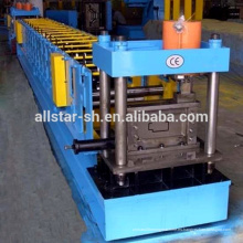 Perfil metálico de acero acero puerta marco perfiladora de chasis de la máquina de fabricación de aluminio galvanizado acero que hace la máquina