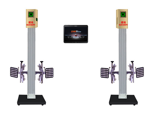 Garage mobile 3D wheel alignment