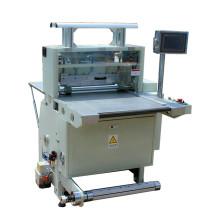 Máquina de corte automática da etiqueta da etiqueta da metade do corte