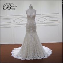 Promotion appliques robe de mariage nuptiale Prom Party