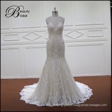 Традиционные Кружева Русалка Свадебное Платье