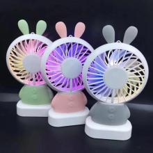 Rechargeable KC Battery Handheld Led Fan For Korea