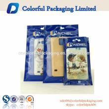 Embalaje de la caja del teléfono móvil del bbag del papel de aluminio de la bolsa de plástico