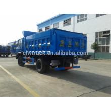 Euro IV Dongfeng 145 dimensões do caminhão de lixo, 4x2 caminhão de lixo 10 toneladas
