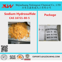 NaHS Yellow Flake 70% Sodium Hydrosulfide Price