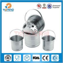infusor de chá de malha de arame de aço inoxidável, coador de chá, ferramentas de chá