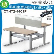 Conjunto de mesa de escritório de escritório de cristal de 2015