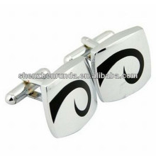 2015 fashion men accessory stainless steel cufflinks