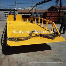 Hontylift rampa de muelle hidráulica manual manual - serie DCQY