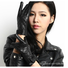 High quality Fashion washed PU leather gloves