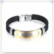 Pulseira de silicone pulseira de silicone para pulseira de borracha (lb504)
