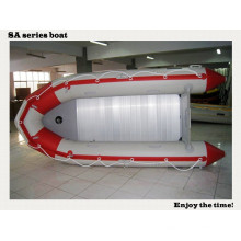 2015 neues aufblasbares Boot des Entwurfs-3.8m SA380-Aluminiumboden-Boot, das für Rettung mit CER China arbeitet